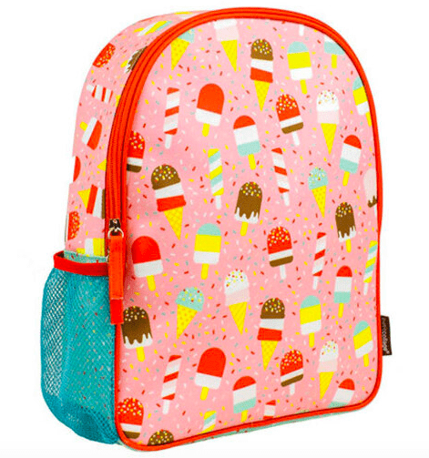 Petit Collage Ice Cream Back Pack