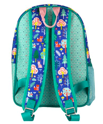 Petit Collage Woodland Back Pack with Adjustable Straps