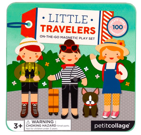 Petit Collage 3 Plus Magnetic Play Set - Little Travellers