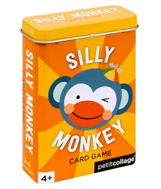 Petit Collage 4 Plus Game - Silly Monkey