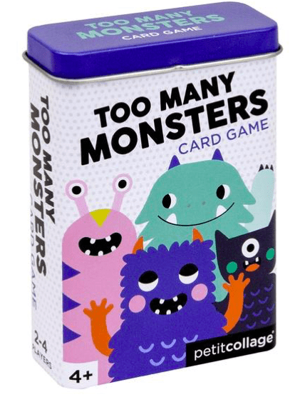 Petit Collage 4 Plus Game - Too Many Monsters