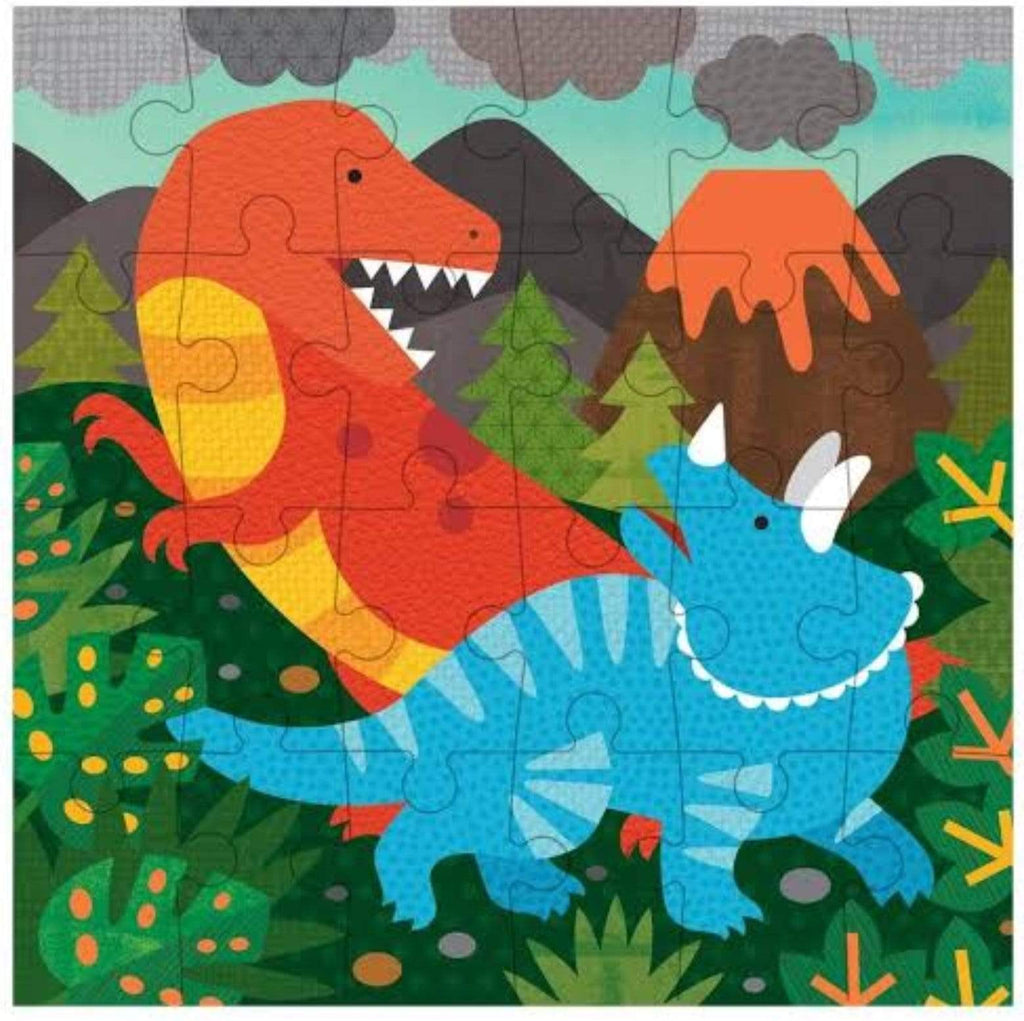 Petit Collage 4 Plus Petit Puzzle 24pc- Dinosaur