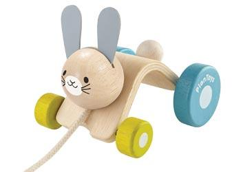 Plan Toys 12 Mths Plus Hopping Rabbit