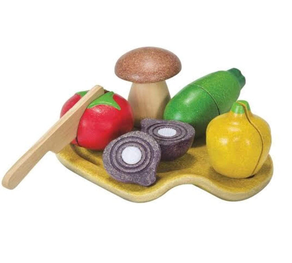 Plan Toys 18 Mths Plus Assorted Vegetable Set