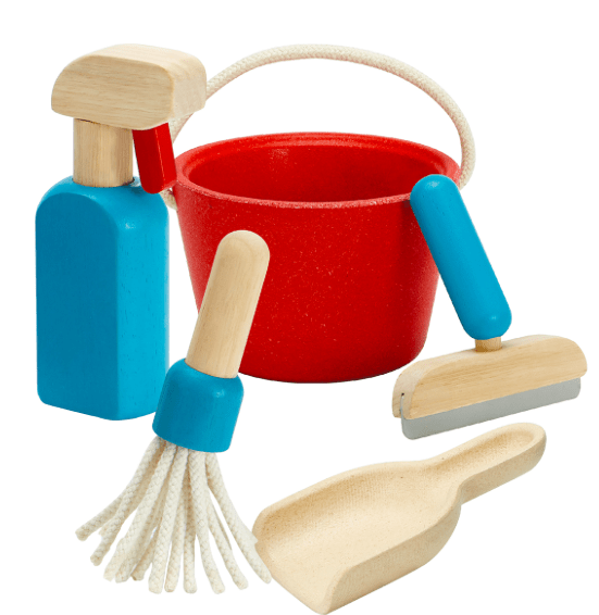 Plan Toys 2 Plus Cleaning Set