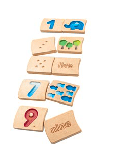 Plan Toys 2 Plus Numbers 1-10