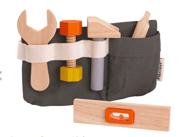 Plan Toys 3 Plus Tool Belt