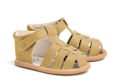 Pretty Brave Newborn to 22 Months Rio Sandal - Tan