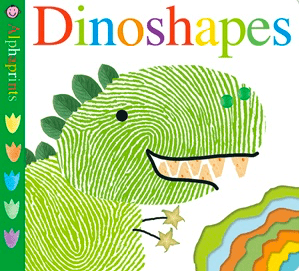 Priddy Books 12 Mths Plus Alphaprints - Dinoshapes - Roger Priddy