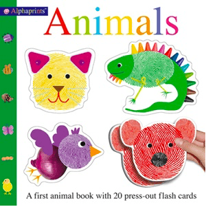 Priddy Books 2 Plus Alphaprints - Animals - Roger Priddy