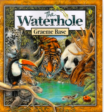 Puffin 2 Plus Bks The Waterhole - Graeme Base