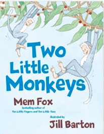 Puffin 2 Plus Bks Two Little Monkeys - Mem Fox