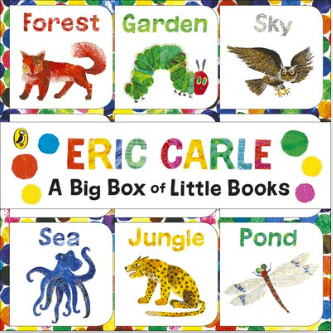 Puffin Birth Plus Eric Carle, A Big Box of Little Books - Eric Carle