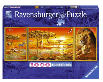 Ravensburger 10 Plus 1000 Pc Puzzle - African Majesty