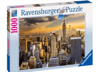 Ravensburger 10 Plus 1000 Pc Puzzle - Grand New York