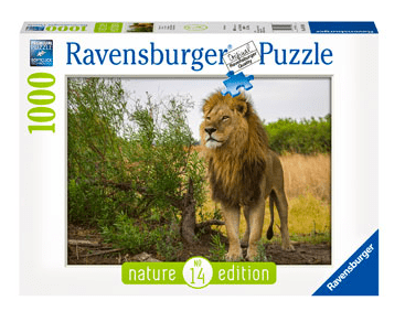 Ravensburger 10 Plus 1000 Pc Puzzle - King of the Lions