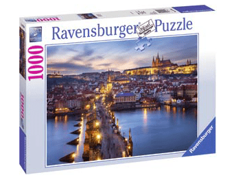 Ravensburger 10 Plus 1000 Pc Puzzle - Prague at Night