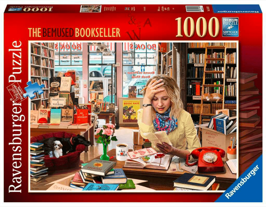 Ravensburger 10 Plus 1000 Pc Puzzle - The Bemused Bookseller