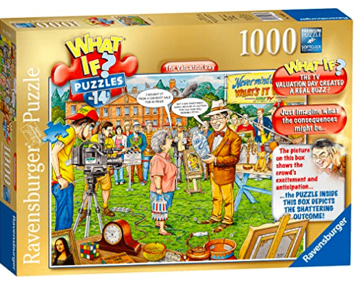 Ravensburger 10 Plus 1000 Pc Puzzle - What If? The Valuation Day
