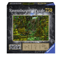Ravensburger 10 Plus 759 Pc Escape Puzzle - The Temple Grounds