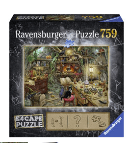 Ravensburger 10 Plus 759 Pc Escape Puzzle - The Witches Kitchen