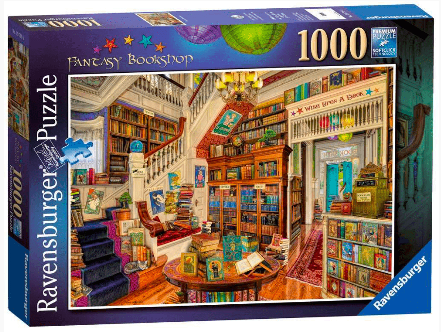 Ravensburger 12 Plus 1000 Pc Puzzle - Fantasy Bookshop