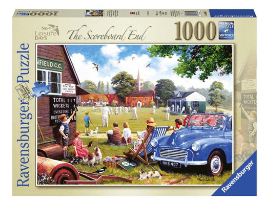 Ravensburger 12 Plus 1000 Pc Puzzle - Leisure Days, The Scoreboard End