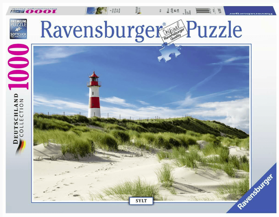 Ravensburger 12 Plus 1000 Pc Puzzle - Lighthouse in Sylt