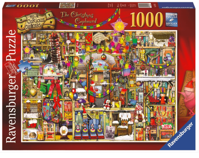 Ravensburger 12 Plus 1000 Pc Puzzle - The Christmas Cupboard
