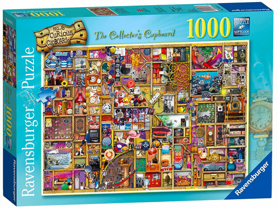 Ravensburger 12 Plus 1000 Pc Puzzle - The Collector's Cupboard