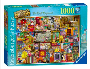 Ravensburger 12 Plus 1000 Pc Puzzle - The  Craft Cupboard