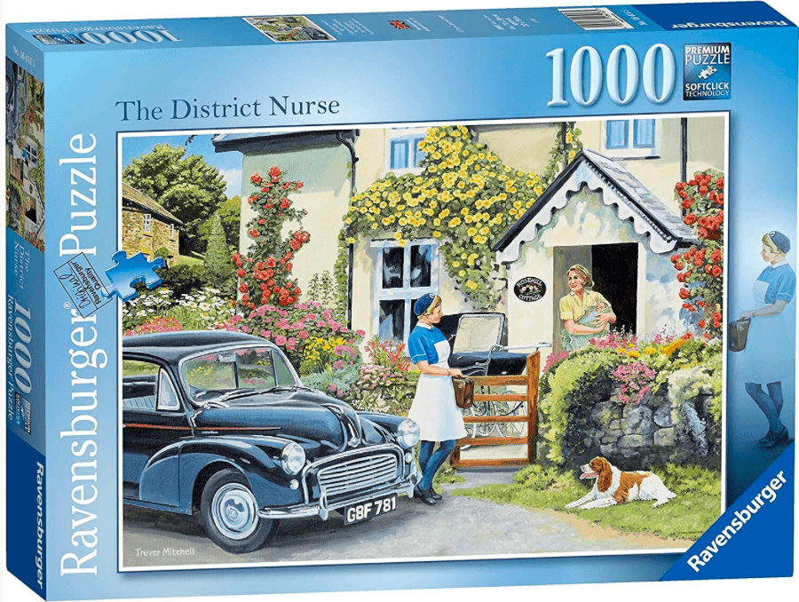 Ravensburger 12 Plus 1000 Pc Puzzle - The District Nurse