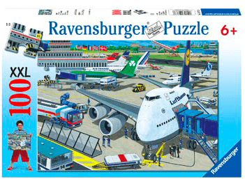 Ravensburger 6 Plus 100 Pc Puzzle - Airport