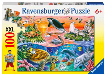 Ravensburger 6 Plus 100 Pc Puzzle - Beautiful Ocean