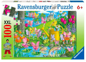 Ravensburger 6 Plus 100 Pc Puzzle - Fairy Playland