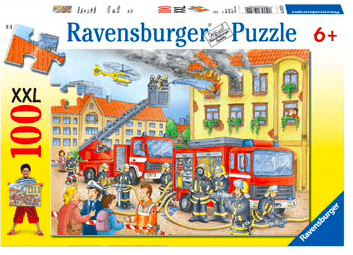 Ravensburger 6 Plus 100 Pc Puzzle - Fire Brigade