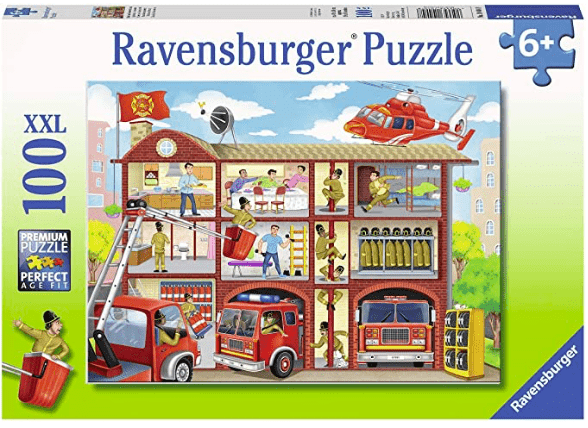 Ravensburger 6 Plus 100 Pc Puzzle - Firehouse Frenzy