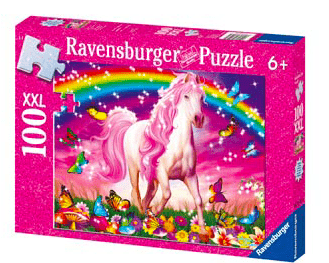 Ravensburger 6 Plus 100 Pc Puzzle Glitter - Horse Dream