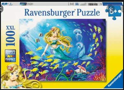 Ravensburger 6 Plus 100 Pc Puzzle - Little Mermaid