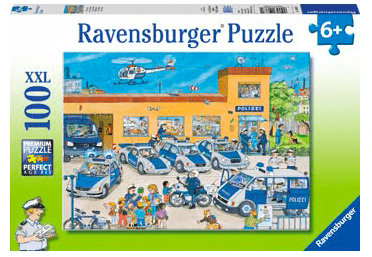 Ravensburger 6 Plus 100 Pc Puzzle - Police District