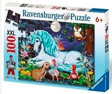 Ravensburger 6 Plus 100 Pc Puzzle - The Enchanted Forest