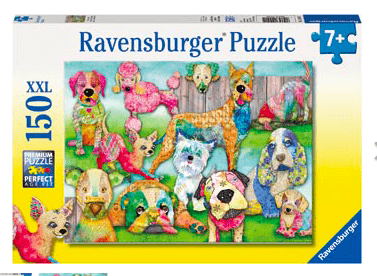 Ravensburger 7 Plus 150 Pc Puzzle - Patchwork Pups