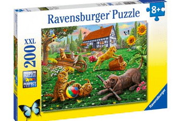 Ravensburger 8 Plus 200 Pc Puzzle - Playing in the Yard