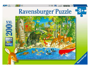 Ravensburger 8 Plus 200 Pc Puzzle - Woodland Friends
