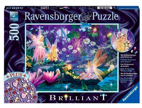 Ravensburger 8 Plus 500 Pc Puzzle Brilliant - The Fairy Forest