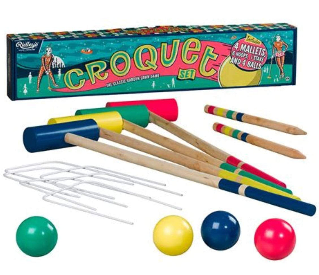 Ridley's Games 8 Plus Croquet Set