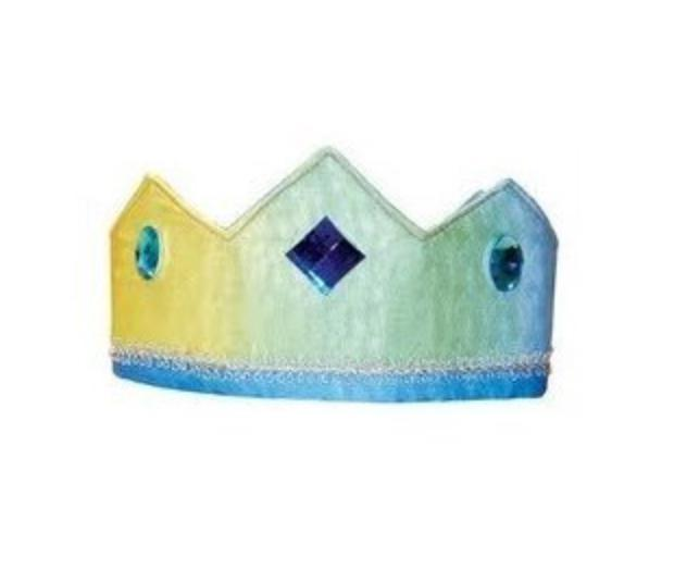 Sarah's Silks 2 Plus Silk Crown - Rainbow/Sky