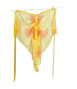 Sarah's Silks 3 Plus Fairy Wings - Butterfly Yellow/Orange