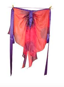 Sarah's Silks 3 Plus Fairy Wings - Fairy Pink/Purple