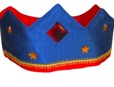 Sarah's Silks 3 Plus Silk Crown - Blue/Red
